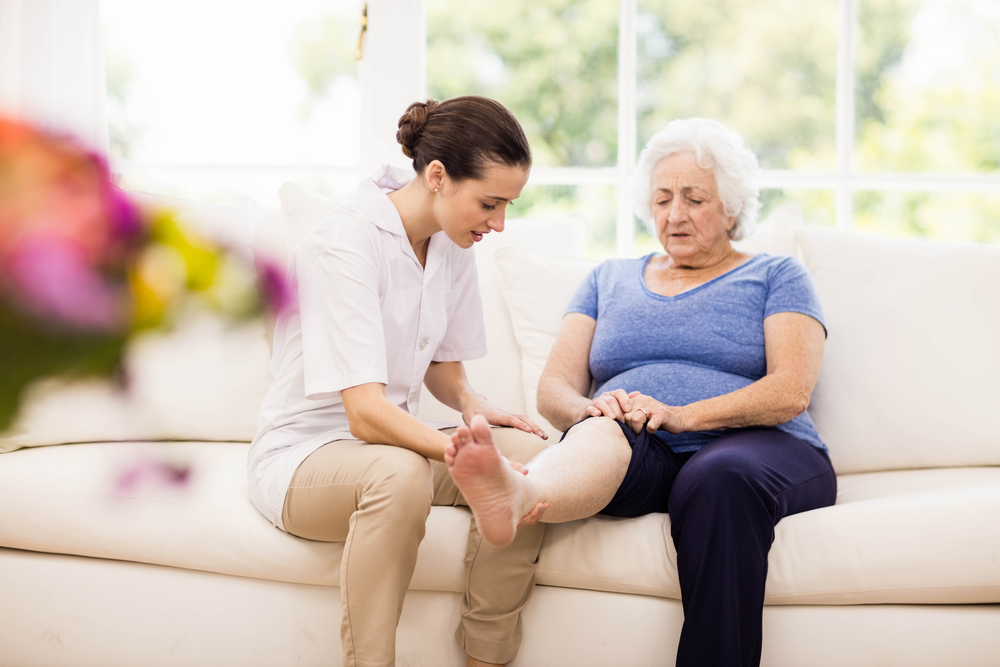 What effects does aging have on your feet?