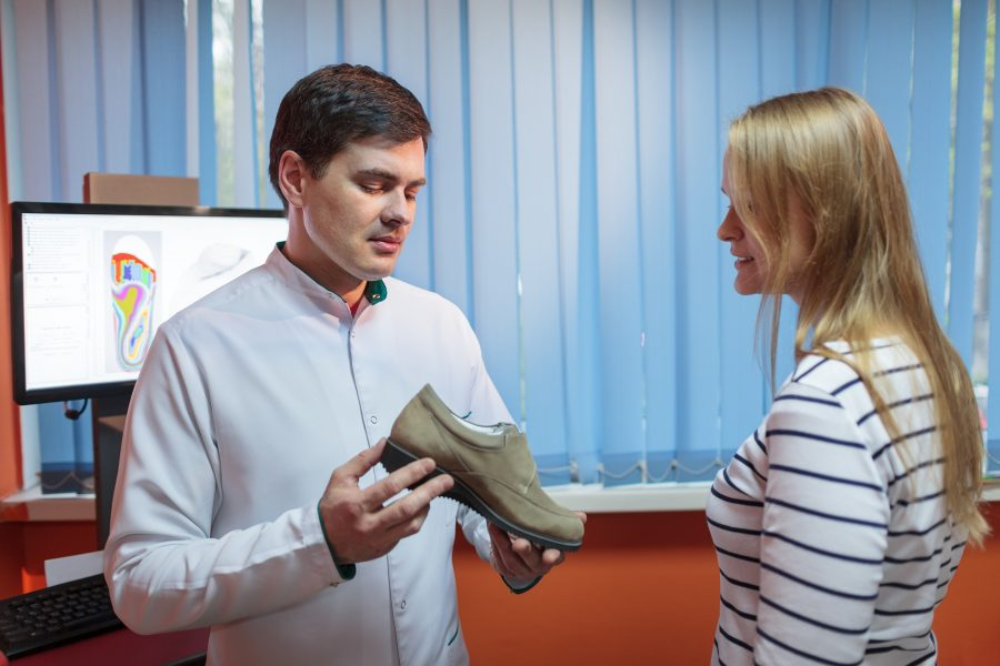Choosing your shoes when mobility is limited