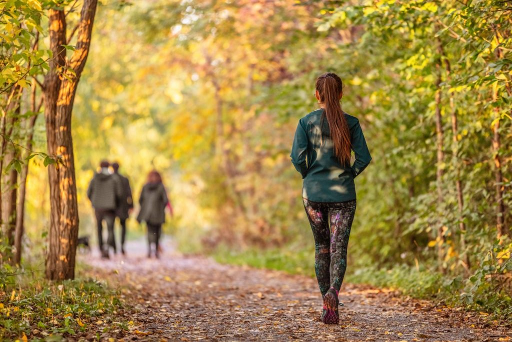 Brisk walking is a free and simple sport to participate in