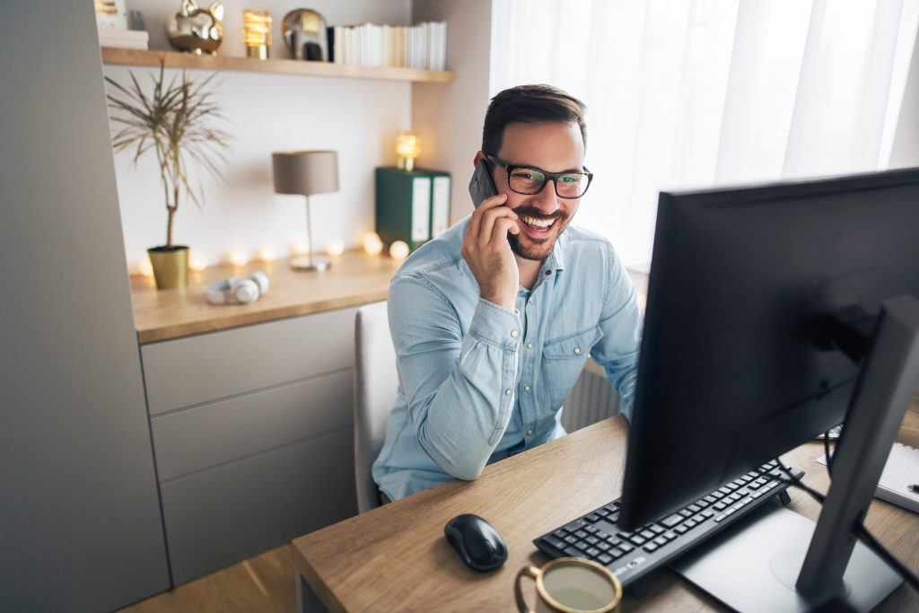 Working from home: ergonomic posture, even for your feet