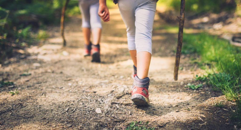 Choosing the right shoes for hiking