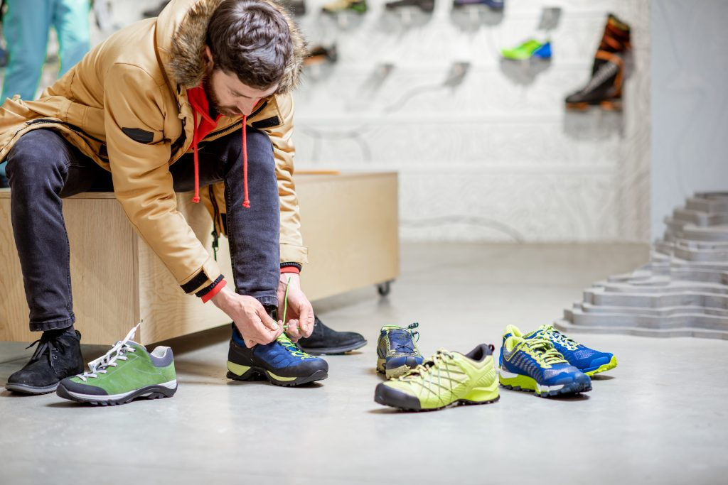Choosing the right shoe for your foot shape